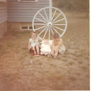 Me and my sisters circa 1964 Past
