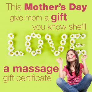 mother's day massage ad